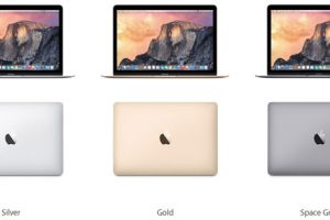 Apple Macbook 12 Inci