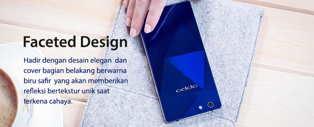 Desain HP Android OPPO R1x