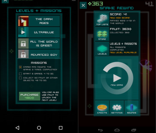 Game-Snake-Rewind-Android