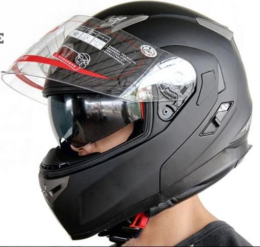 keunggulan full face helmet